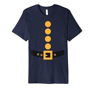 Navy Halloween Dwarf Costume Color Matching Premium T-Shirt