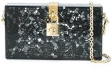 Dolce & Gabbana 'Dolce' box clutch - women - Cotton/Acrylic/metal - One Size