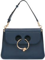 J.W.Anderson medium Pierce shoulder bag - women - Cotton/Calf Leather - One Size