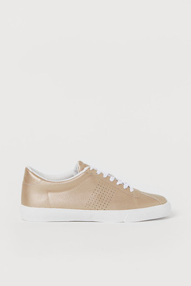 H&M Sneakers - Gold