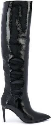 Paul Warmer Knee Length High-Heel Boots