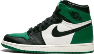 Jordan Air 1 Retro High OG 'Pine Green' Shoes - Size 8