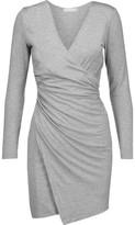 Kain Label Nori Wrap-Effect Stretch Modal-Blend Mini Dress