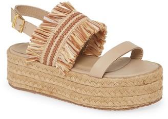 Kaanas Fiji Platform Sandal