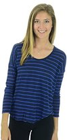 Joie Women's Serenita Striped Scoop Neck Top