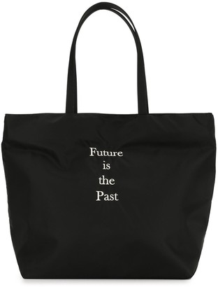 Undercover Future Is The Past tote bag