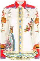Etro circus print shirt
