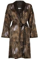 Hanro Adele Silk Robe