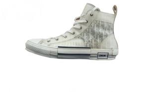 Christian Dior B23 White Cloth Trainers