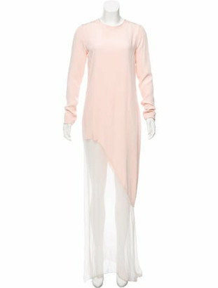 Prabal Gurung Magnolia Asymmetrical Dress Pink