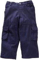 Mulberribush Stripe Constructed Cargo Pant (Toddler & Little Boys)