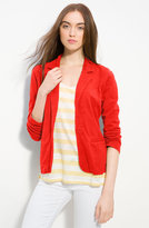 Caslon® One-Button Knit Blazer