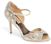 Badgley Mischka Women's Belinda Ankle Strap Pump