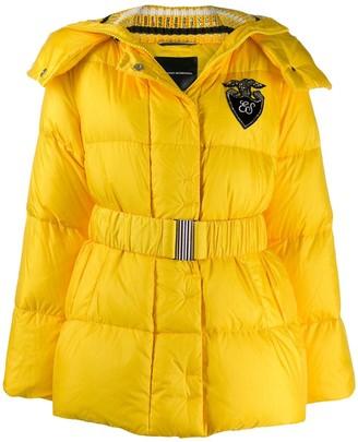 Ermanno Scervino hooded padded jacket