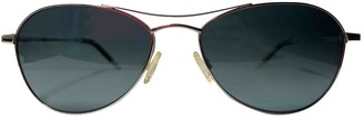 Oliver Peoples Blue Metal Sunglasses