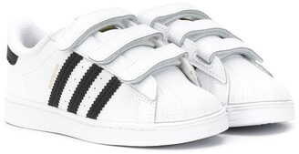 Adidas Originals Kids Superstar CF low-top sneakers