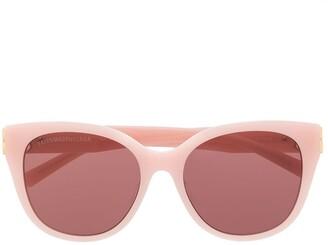 Balenciaga cat-eye tinted BB sunglasses