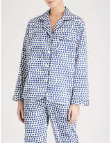 Bodas Siena cotton pyjama shirt