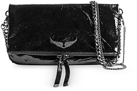 Zadig & Voltaire Rock Patent Leather Crossbody Bag