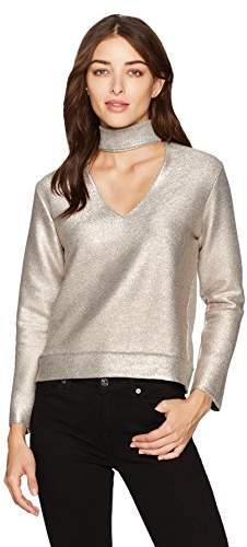 e142715716f Metallic Gold And Rose Top - ShopStyle