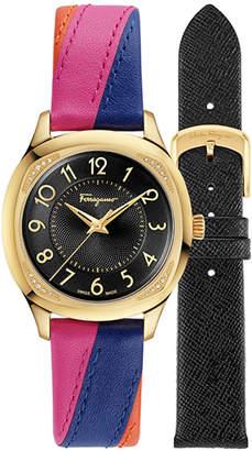Salvatore Ferragamo Women's Time Diamond Watch
