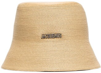 Jacquemus Manosque logo bucket hat
