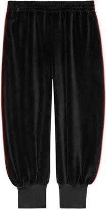 Gucci Children's chenille jogging bottoms
