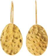 Whistles Made Hammered Drop Earring
