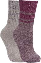 Trespass Womens/Ladies Hadley Hiking Boot Socks (2 Pairs)
