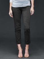 Gap Demi panel double-knit girlfriend pants