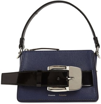 Proenza Schouler Small Textured Leather Top Handle Bag