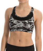 Reebok Renew Datum Print Sports Bra - Medium Impact (For Women)