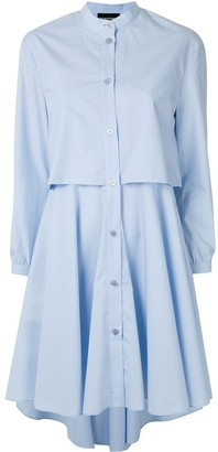 Emporio Armani Layered Shirt Dress