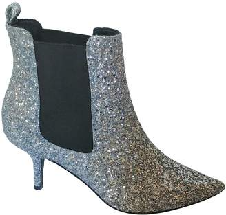 Anine Bing \N Silver Glitter Ankle boots
