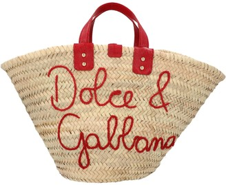 Dolce & Gabbana Logo Embroidered Tote Bag