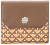 Bally geometric pattern purse