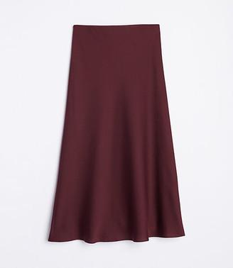 LOFT Flowy Midi Skirt