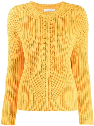 Parker Chinti & ribbed knit sweater
