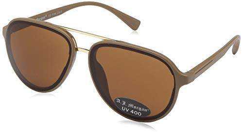 Morgan A.J. Sunglasses Platinum Aviator Sunglasses