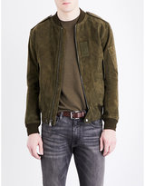 Polo Ralph Lauren Suede bomber jacket