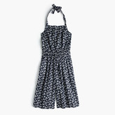 J.Crew Girls' halter jumpsuit in giraffe print