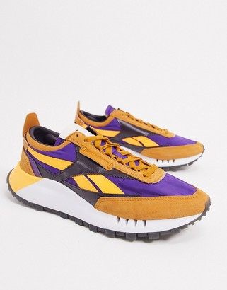 Reebok Classic Legacy sneakers in orange