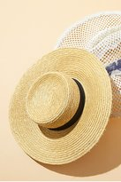 Spencer Wide Brim Boater by Lack of Color at Free People