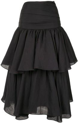 Suki Acler draped skirt