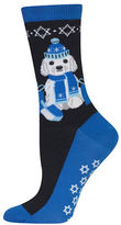 Hot Sox Dreidel Dog Socks