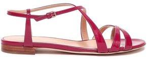 Sergio Rossi Patent-leather Sandals