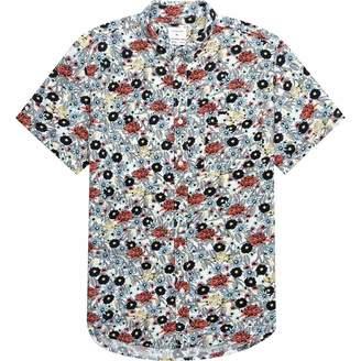 Quiksilver Fluid Geometric Button-Up Shirt - Men's