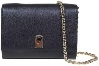 Furla 1927 Mini Shoulder Bag In Black Leather