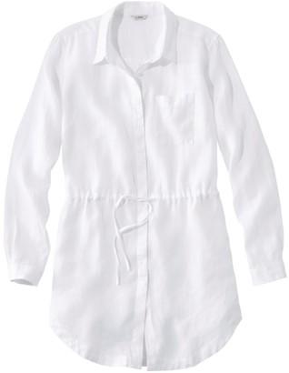 L.L. Bean Women's Premium Washable Linen Drawstring Tunic