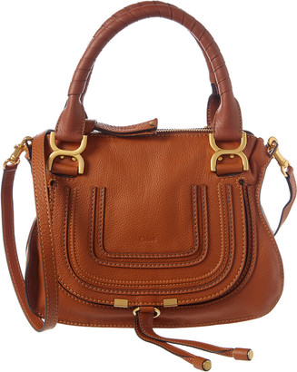 Chloé Marcie Small Leather Satchel